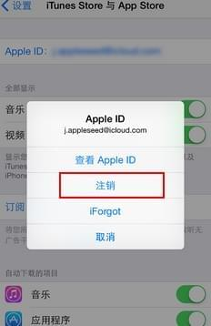 在您的iPhone中删除Apple ID